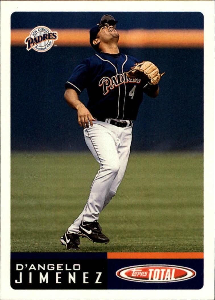 2002 Topps Total #558 D'Angelo Jimenez