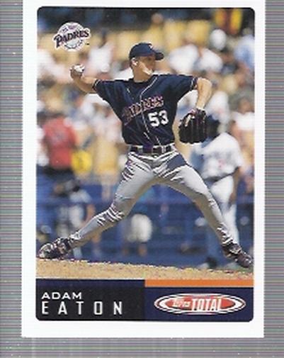 2002 Topps Total #746 Adam Eaton