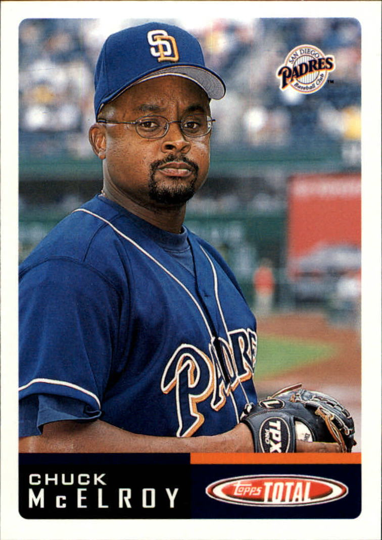 2002 Topps Total #754 Chuck McElroy