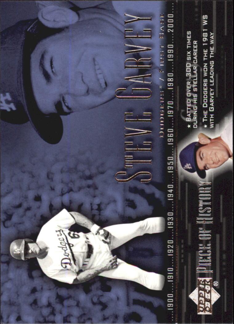 2002 UD Piece of History #64 Steve Garvey