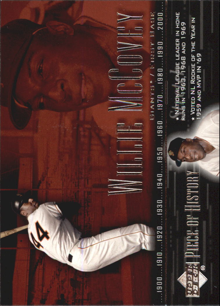 2002 UD Piece of History #73 Willie McCovey
