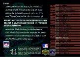 2002 UD Piece of History 300 Game Winners #GW6 Phil Niekro back image