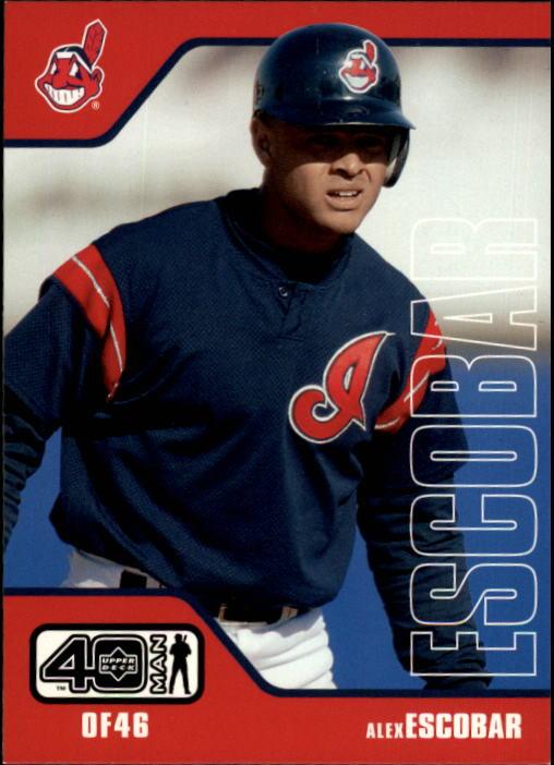 2002 Upper Deck 40-Man #154 Alex Escobar