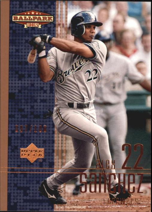 2002 Upper Deck Ballpark Idols Bronze #112 Alex Sanchez