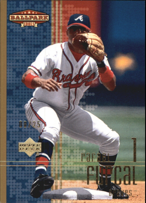 2002 Upper Deck Ballpark Idols Gold #102 Rafael Furcal
