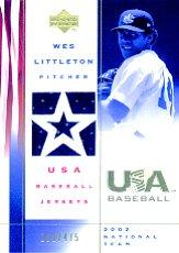 2002 USA Baseball National Team Jerseys #AH Aaron Hill