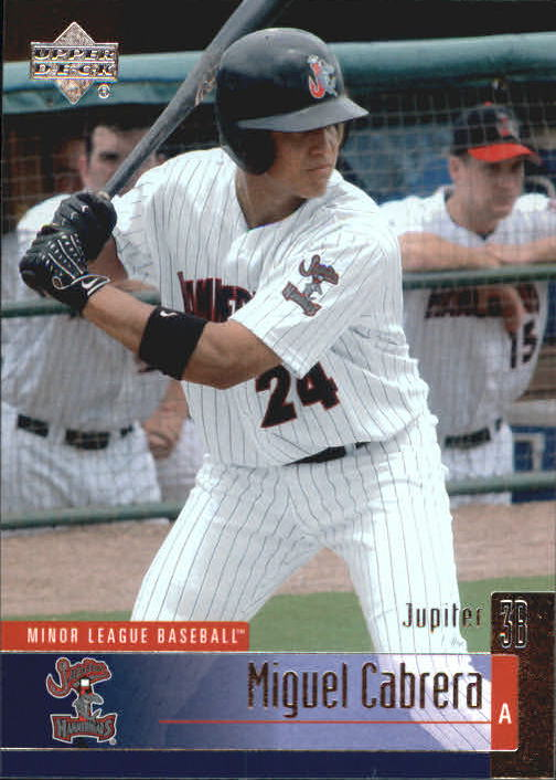 2002 UD Minor League #111 Miguel Cabrera