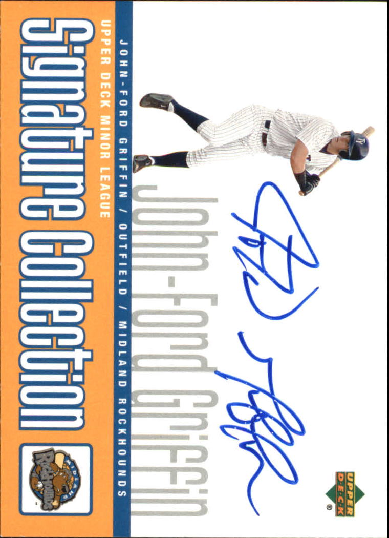 2002 UD Minor League Signature Collection #JF John-Ford Griffin