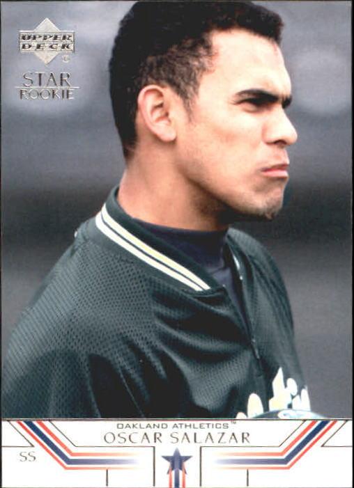 2002 Upper Deck #6 Oscar Salazar SR