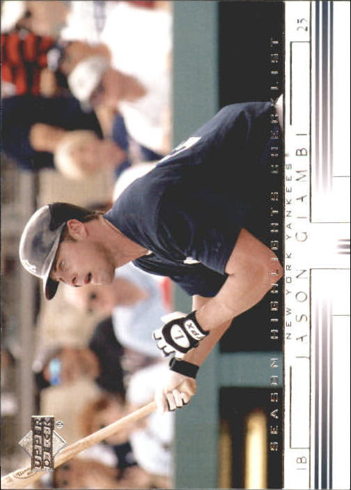 2002 Upper Deck #742 Jason Giambi SH CL