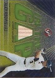2002 Topps Pristine In the Gap #AR Alex Rodriguez Bat A
