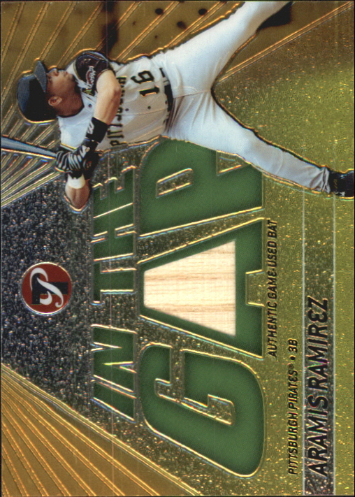 2002 Topps Pristine In the Gap #ARA Aramis Ramirez Bat A