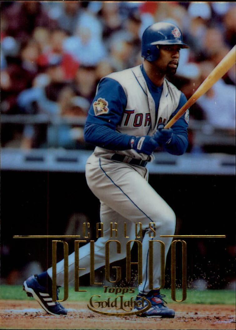 2002 Topps Gold Label #86 Carlos Delgado