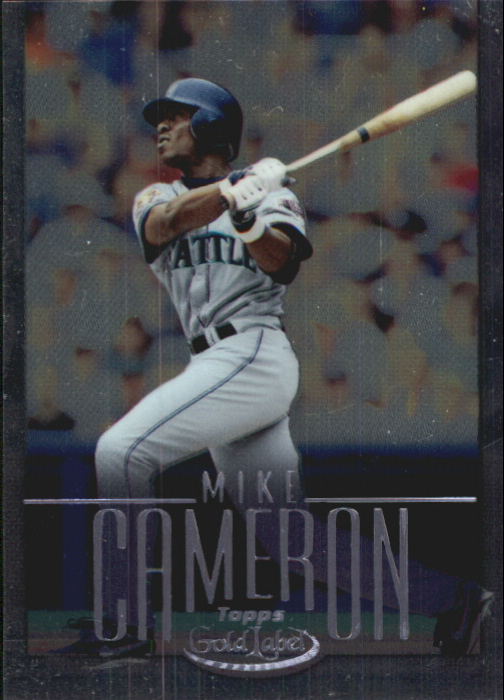 2002 Topps Gold Label Class 2 Platinum #11 Mike Cameron