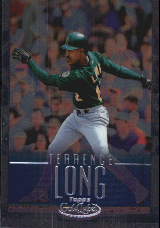 2002 Topps Gold Label Class 2 Platinum #123 Terrence Long