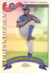 2002 Topps Chrome Traded Refractors #T262 Dontrelle Willis