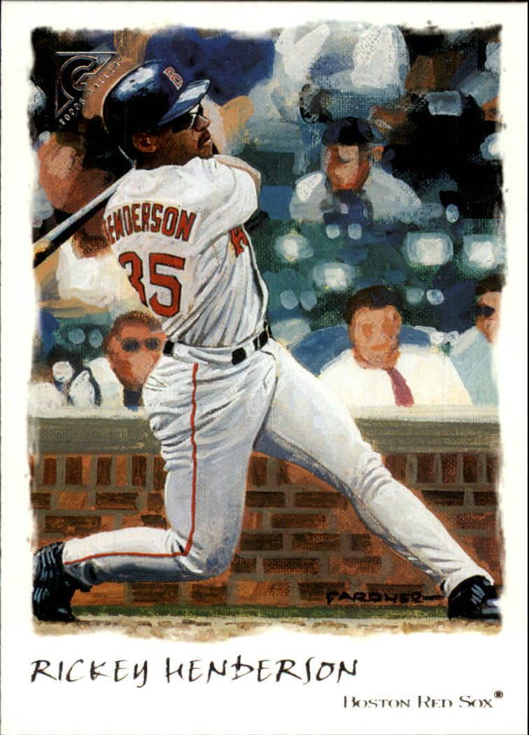 2002 Topps Gallery #64 Rickey Henderson