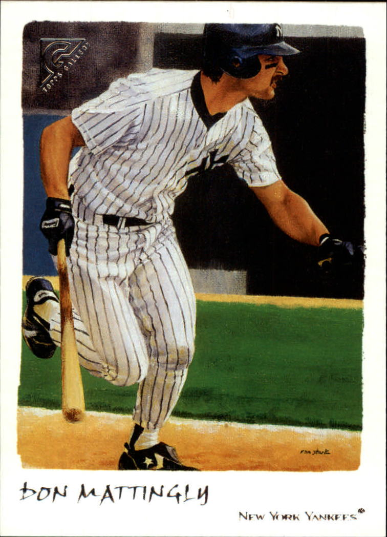 2002 Topps Gallery #200 Don Mattingly RET