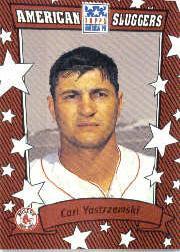 2002 Topps American Pie Sluggers Red #6 Carl Yastrzemski