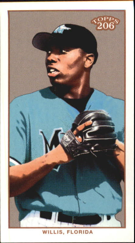2002 Topps 206 Sweet Caporal Red #415 Dontrelle Willis PROS