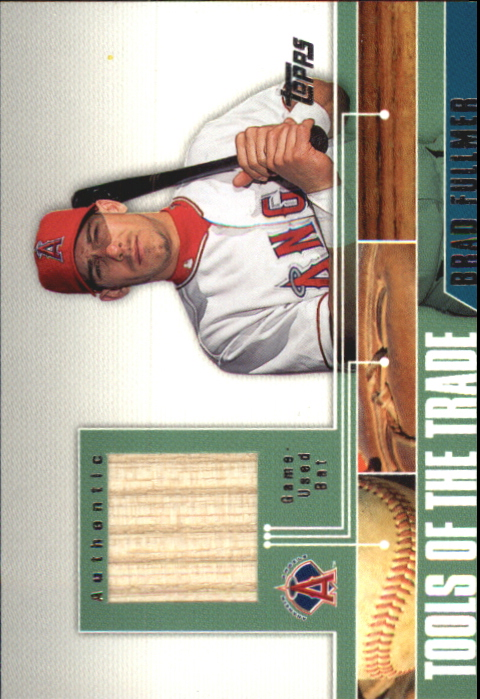 2002 Topps Traded Tools of the Trade Relics #BF Brad Fullmer Bat C