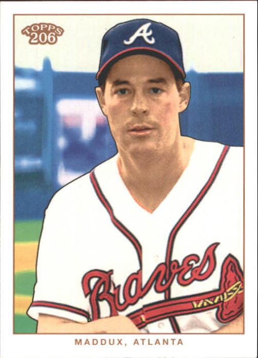 2002 Topps 206 #9 Greg Maddux