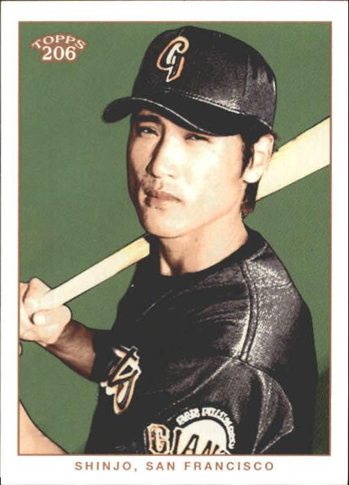 2002 Topps 206 #57 Tsuyoshi Shinjo
