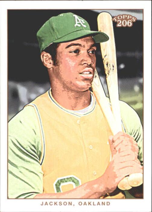 2002 Topps 206 #162 Reggie Jackson RET