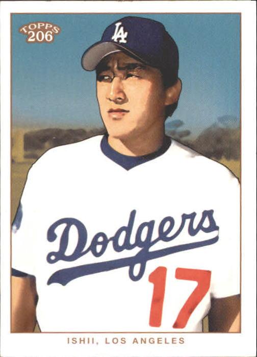2002 Topps 206 #184 Kazuhisa Ishii RC