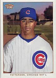 2002 Topps 206 #196B Corey Patterson Pinstripes