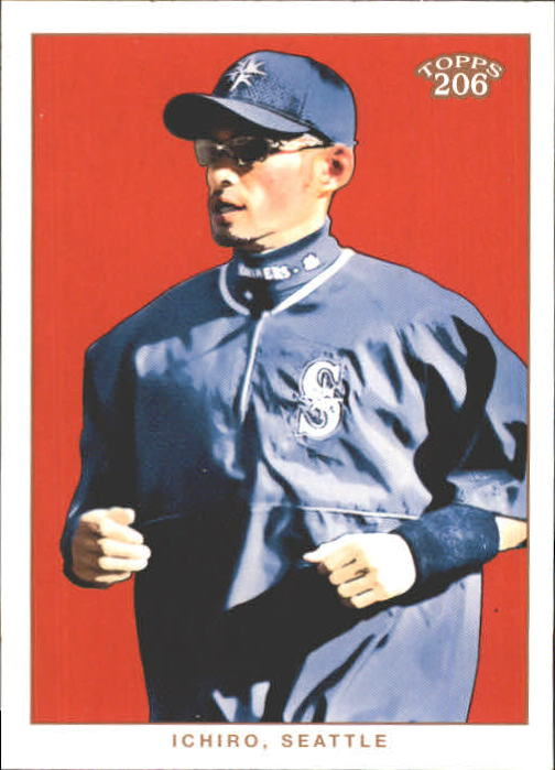 2002 Topps 206 #256A Ichiro Suzuki Blue Jsy