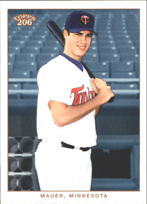 2002 Topps 206 #271 Joe Mauer FYP RC