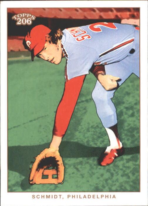 2002 Topps 206 #288 Mike Schmidt RET