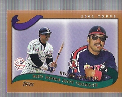 2002 Topps Traded #T267 Reggie Jackson WW