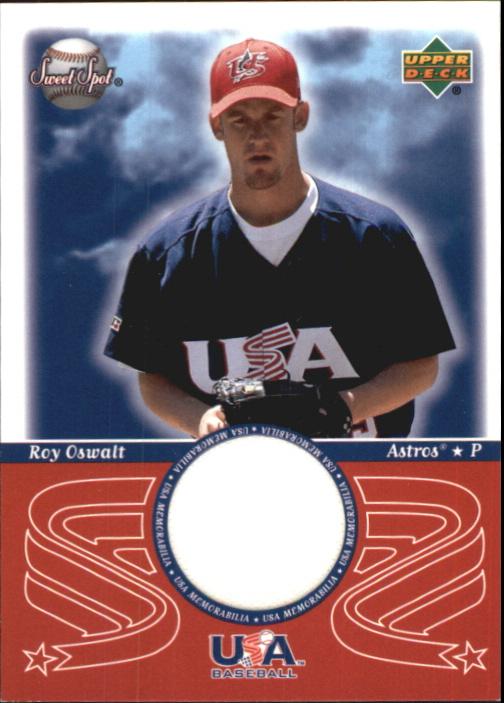 2002 Sweet Spot USA Jerseys #USAMT Mark Teixeira