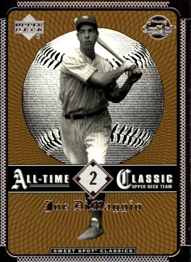 2002 Sweet Spot Classics #2 Joe DiMaggio