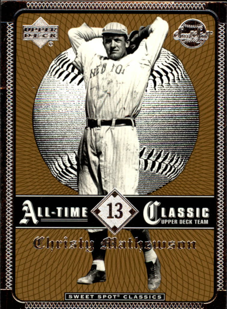 2002 Sweet Spot Classics #13 Christy Mathewson