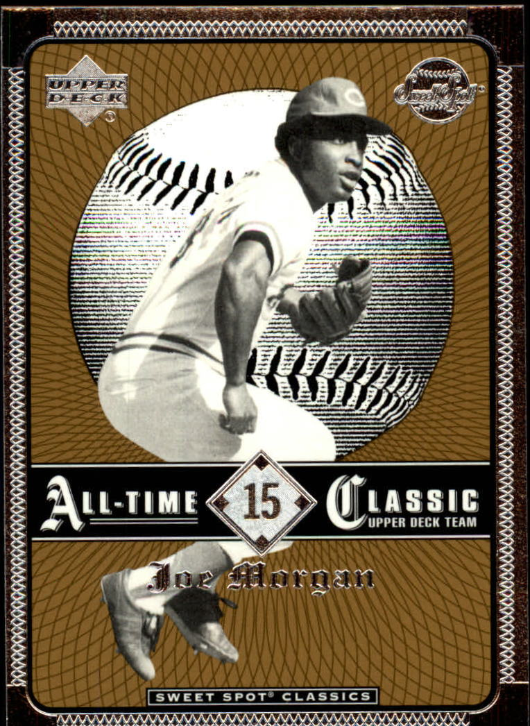 2002 Sweet Spot Classics #15 Joe Morgan