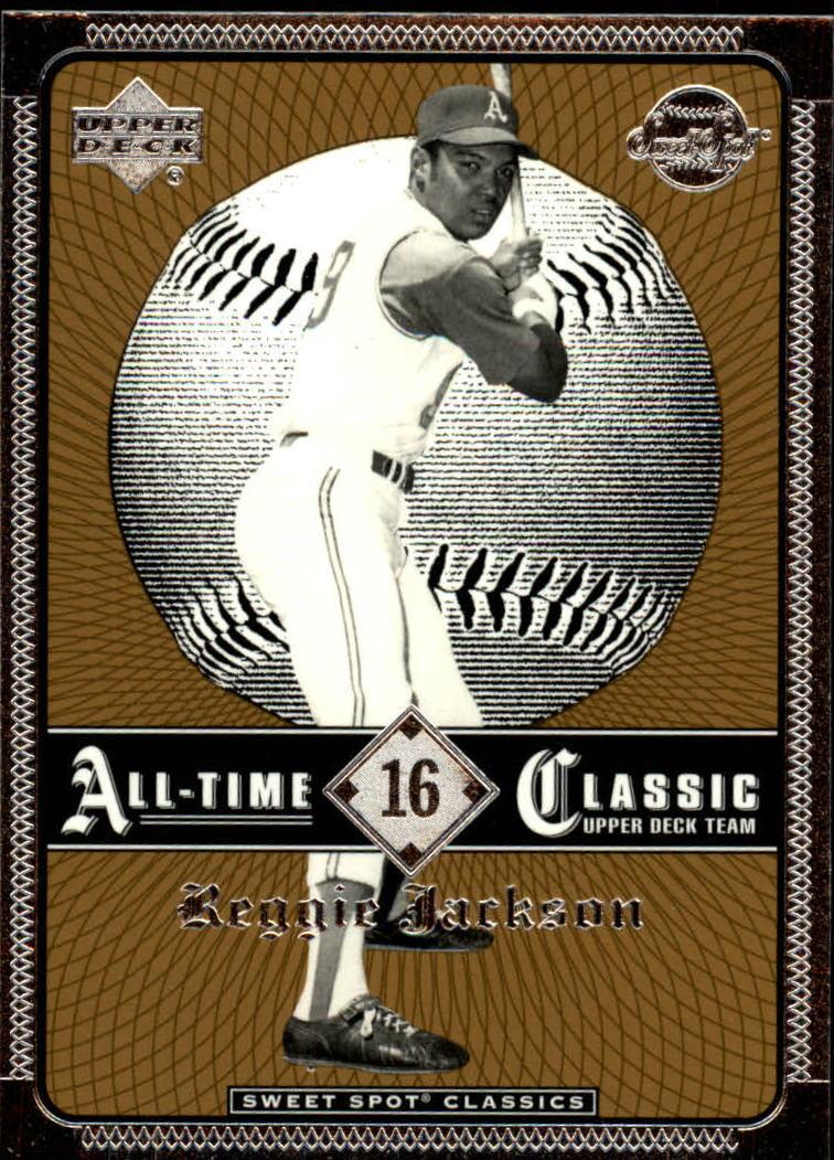 2002 Sweet Spot Classics #16 Reggie Jackson