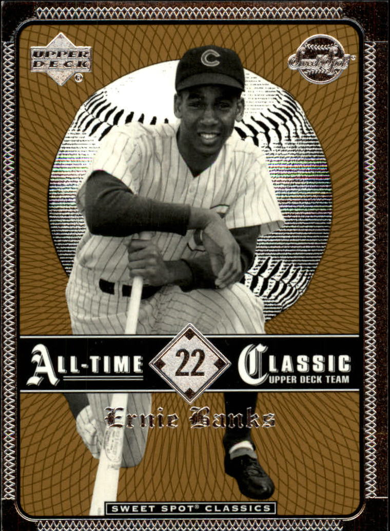 2002 Sweet Spot Classics #22 Ernie Banks