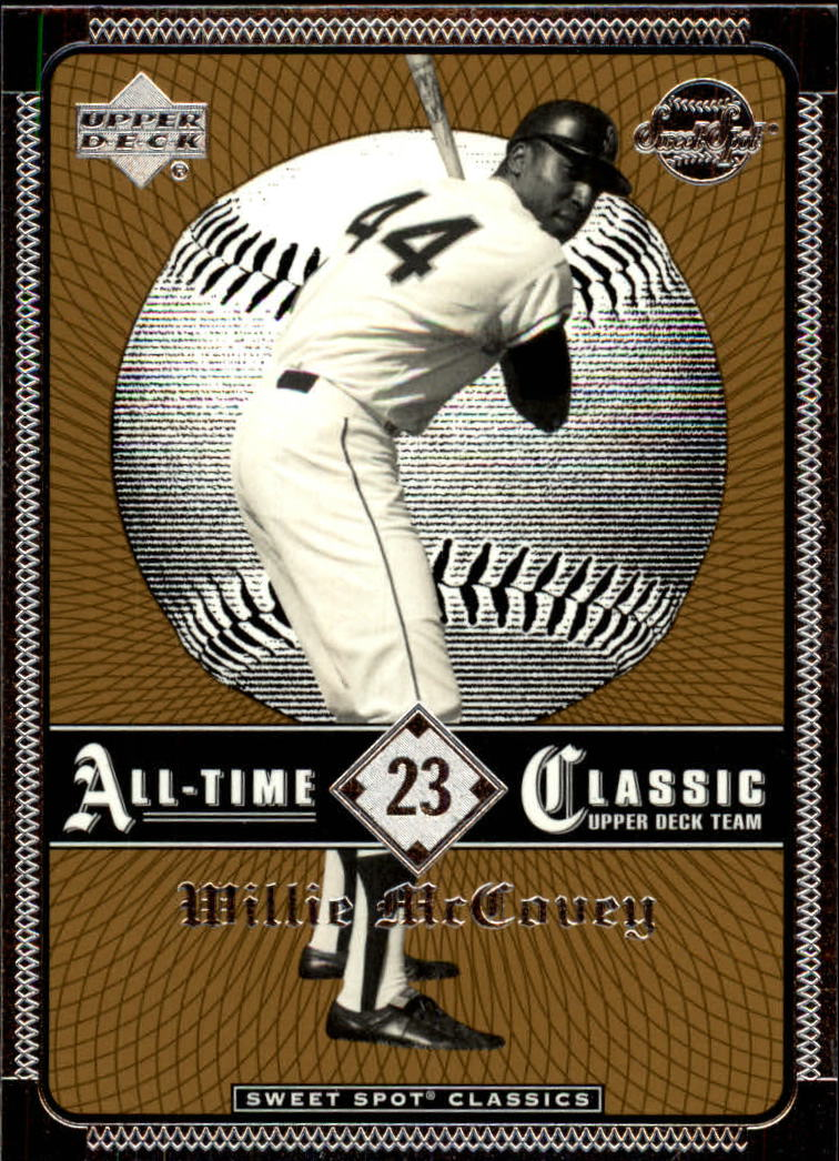2002 Sweet Spot Classics #23 Willie McCovey