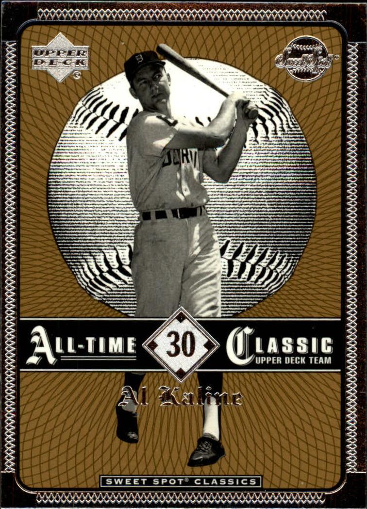 2002 Sweet Spot Classics #30 Al Kaline