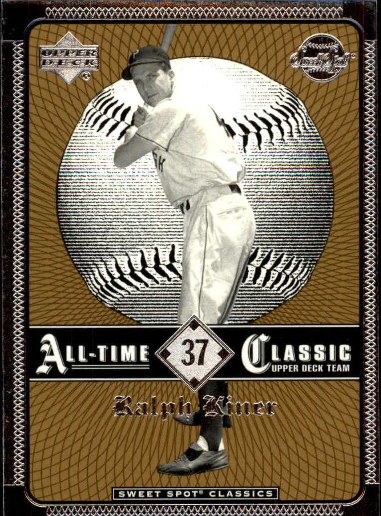 2002 Sweet Spot Classics #37 Ralph Kiner