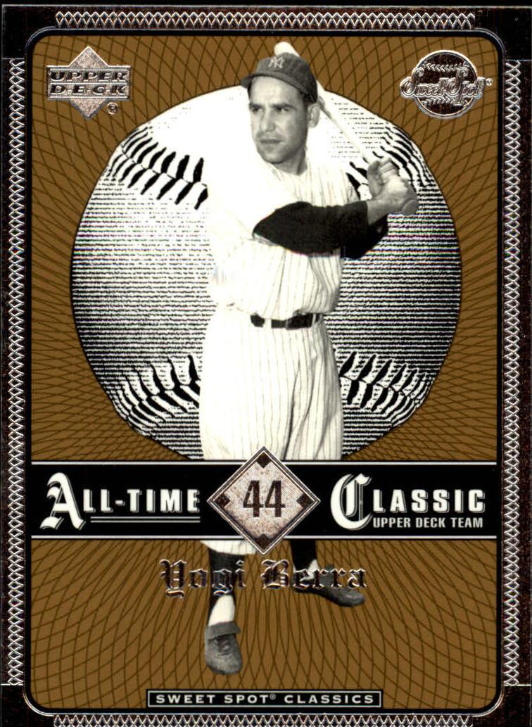 2002 Sweet Spot Classics #44 Yogi Berra