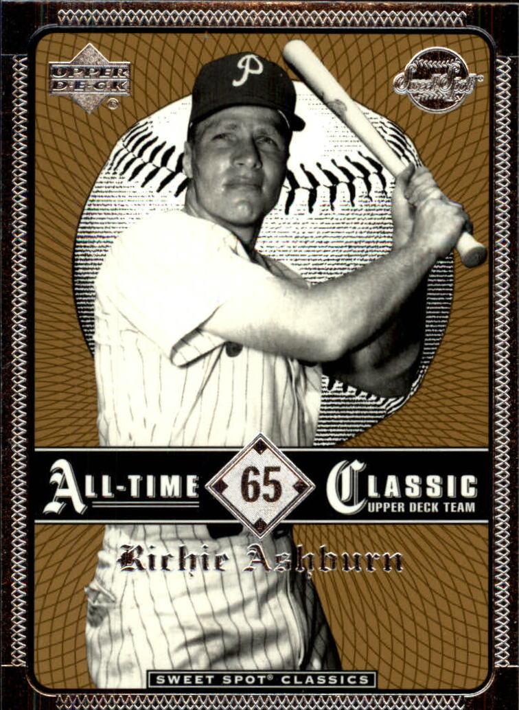 2002 Sweet Spot Classics #65 Richie Ashburn