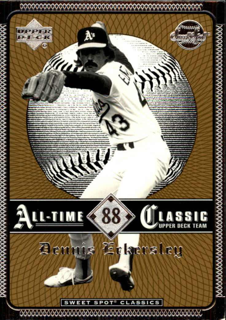 2002 Sweet Spot Classics #88 Dennis Eckersley