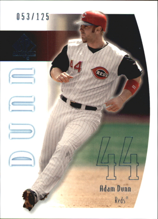 2002 SP Authentic Limited #86 Adam Dunn