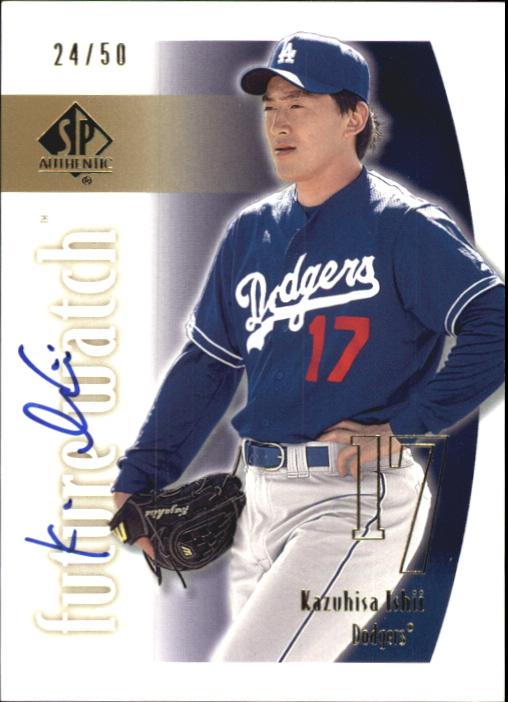 2002 SP Authentic Limited Gold #146 Kazuhisa Ishii FW AU