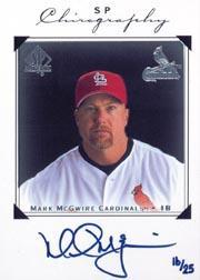 2002 SP Authentic Big Mac Missing Link #MMC Mark McGwire 98