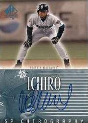2002 SP Authentic Chirography #IS Ichiro Suzuki/78